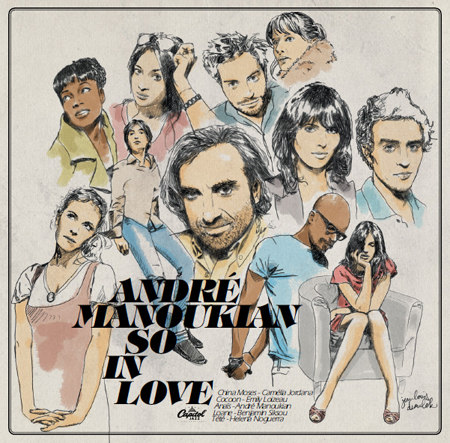 ANDRÉ MANOUKIAN - So in Love cover