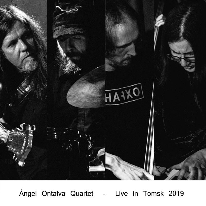 ÁNGEL ONTALVA - Live in Tomsk cover