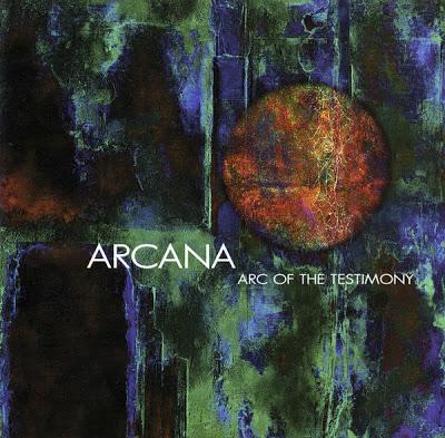 ARCANA - Arc Of The Testimony cover