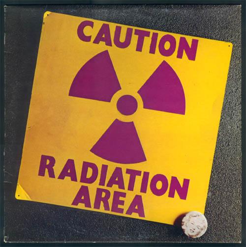 AREA - Caution Radiation Area cover