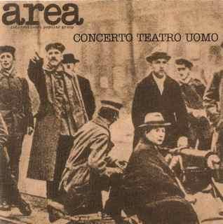 AREA - Concerto Teatro Uomo cover