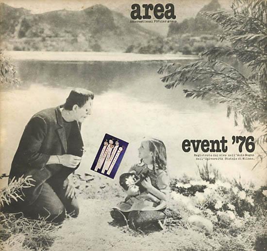 AREA - Event '76 cover