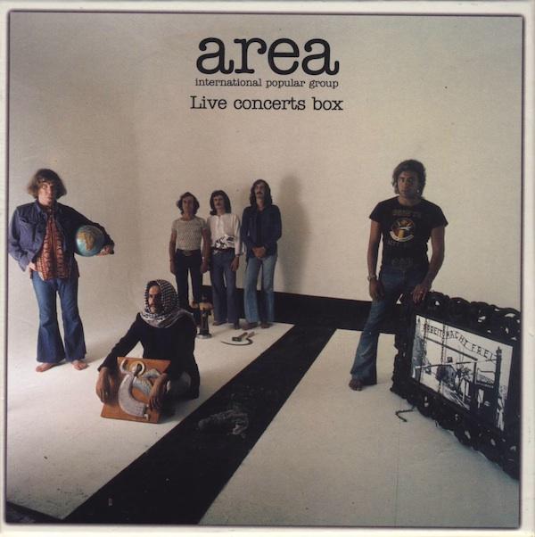 AREA - Live Concerts Box cover