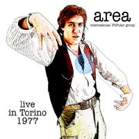 AREA - Live in Torino 1977 cover