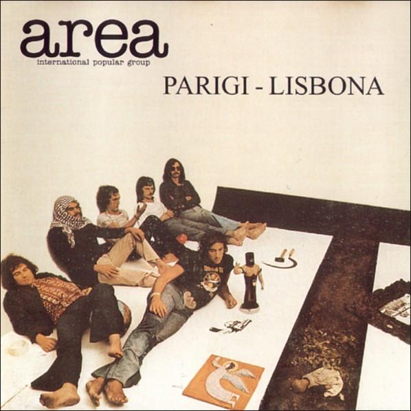 AREA - Parigi - Lisbona cover