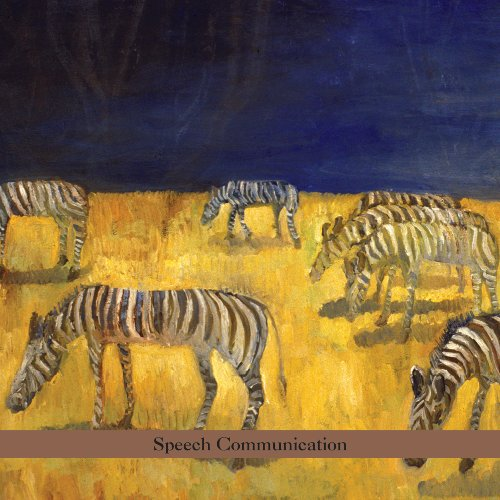 BEN GOLDBERG - Speech Communication cover