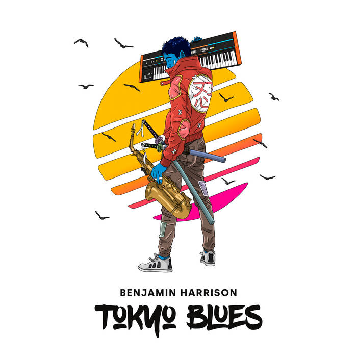 BENJAMIN HARRISON - Tokyo Blues cover
