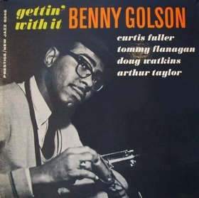 BENNY GOLSON - Gettin' With It cover