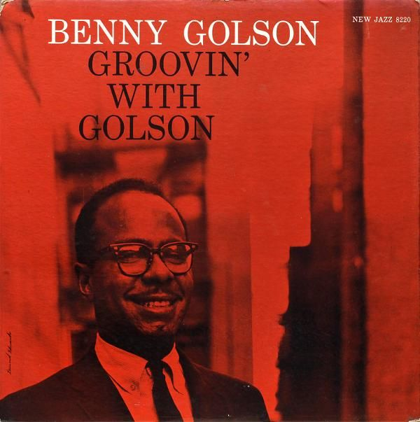 BENNY GOLSON - Groovin' With Golson cover