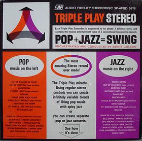 BENNY GOLSON - Pop + Jazz = Swing cover