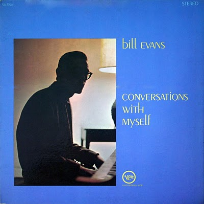 BILL EVANS (PIANO) - Conversations With Myself cover