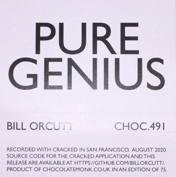 BILL ORCUTT - Pure Genius cover
