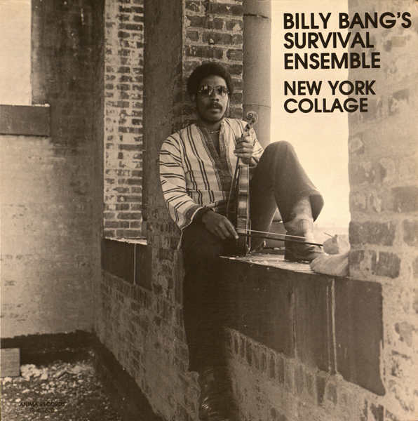 BILLY BANG - New York Collage cover