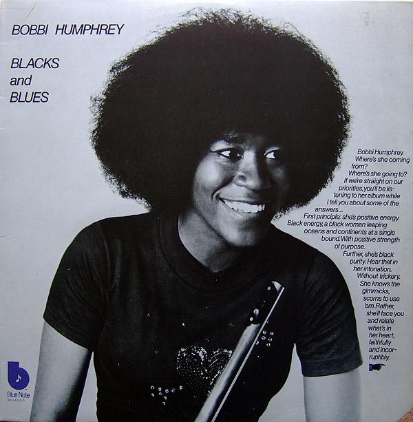 BOBBI HUMPHREY - Blacks and Blues cover