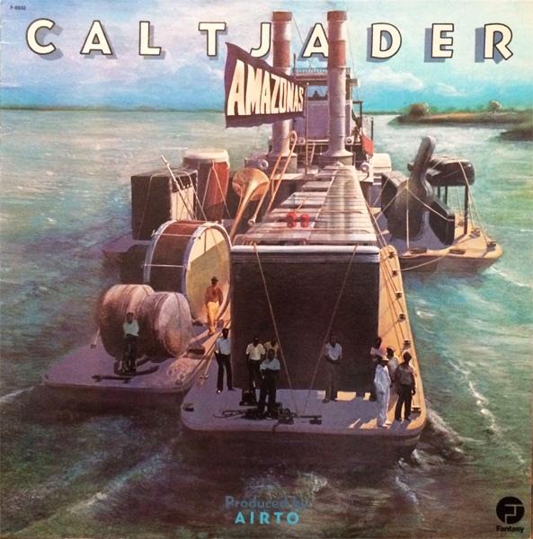 CAL TJADER - Amazonas cover