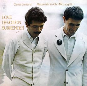CARLOS SANTANA - Love Devotion Surrender (with  John McLaughlin) cover