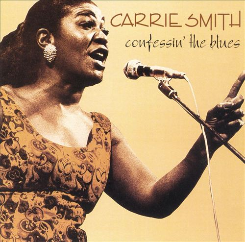 CARRIE SMITH - Confessin' the Blues cover