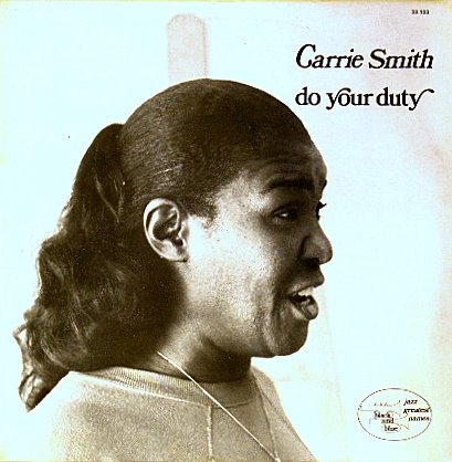 CARRIE SMITH - Do Your Duty cover