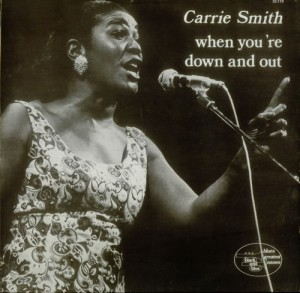 CARRIE SMITH - When You're Down And Out cover