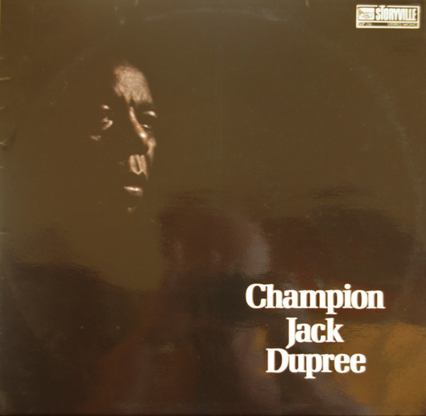 CHAMPION JACK DUPREE - Champion Jack Dupree (Storyville) cover