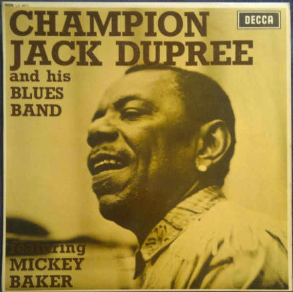 CHAMPION JACK DUPREE - Champion Jack Dupree And His Blues Band Featuring Mickey Baker (aka Jack And Mickey In Heavy Blues) cover