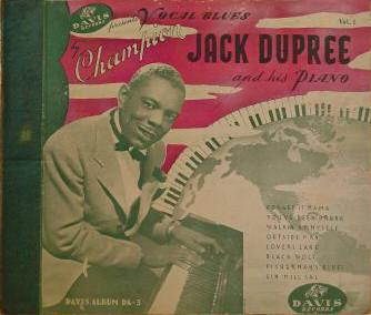 CHAMPION JACK DUPREE - Champion Jack Dupree And His Piano cover