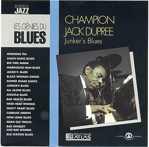 CHAMPION JACK DUPREE - Junker's Blues cover
