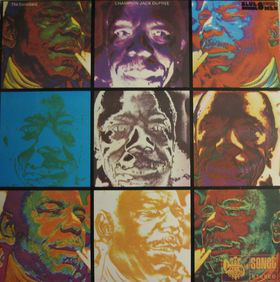 CHAMPION JACK DUPREE - The Incredible (aka The Blues Man Series) cover