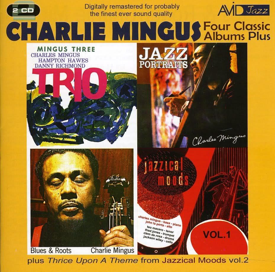 CHARLES MINGUS - Four Classic Albums Plus cover