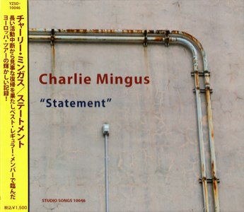 CHARLES MINGUS - Statement cover