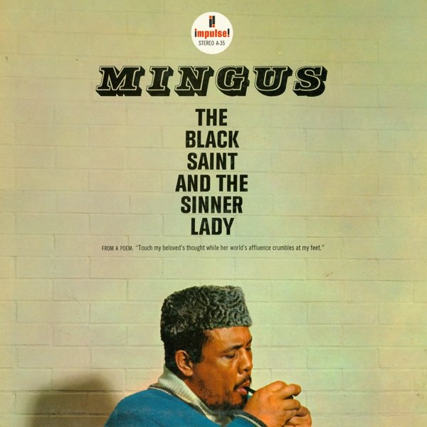 CHARLES MINGUS - The Black Saint and the Sinner Lady cover