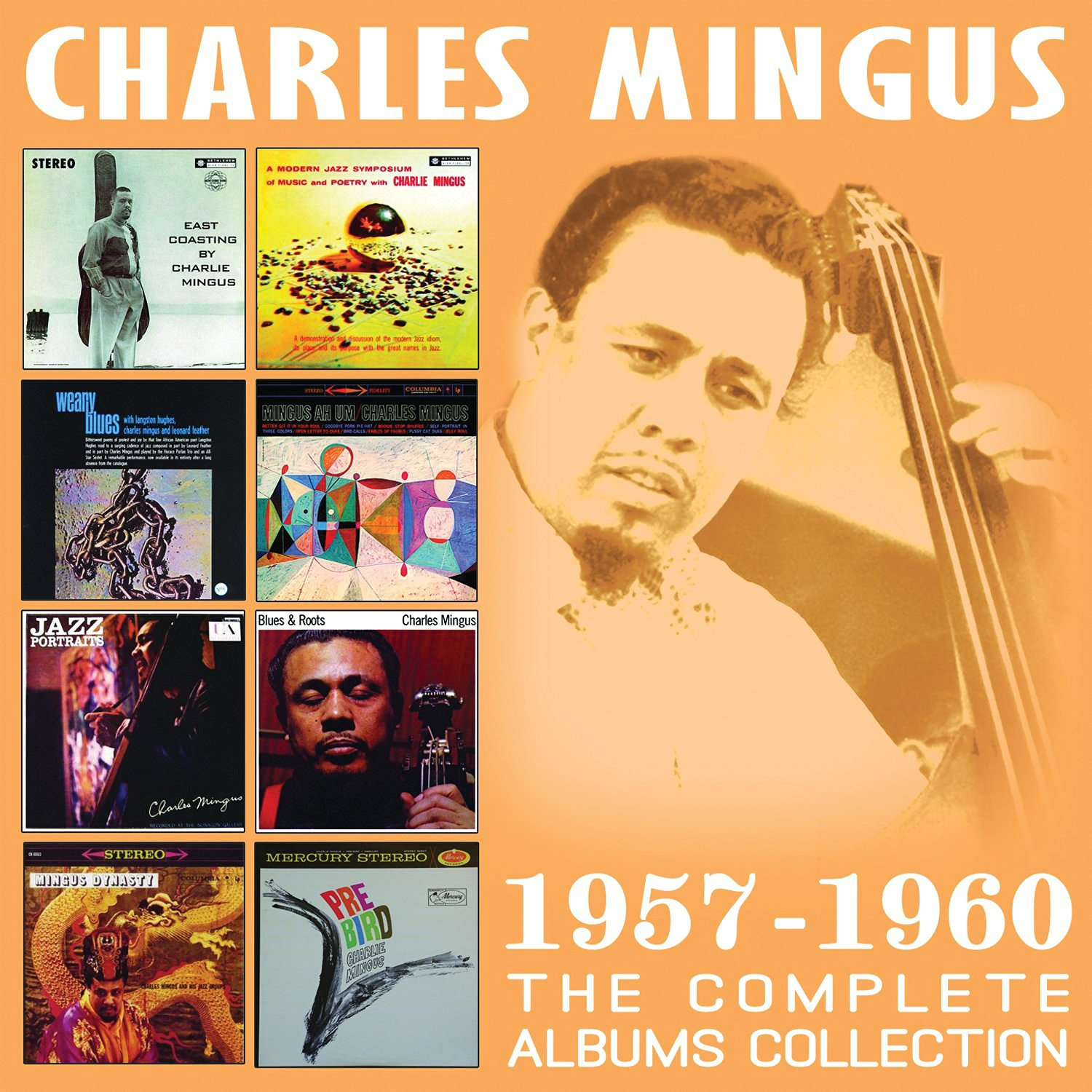 CHARLES MINGUS - The Complete Albums Collection 1957-1960 cover