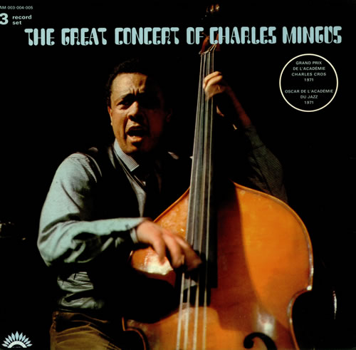 CHARLES MINGUS - The Great Concert of Charles Mingus cover