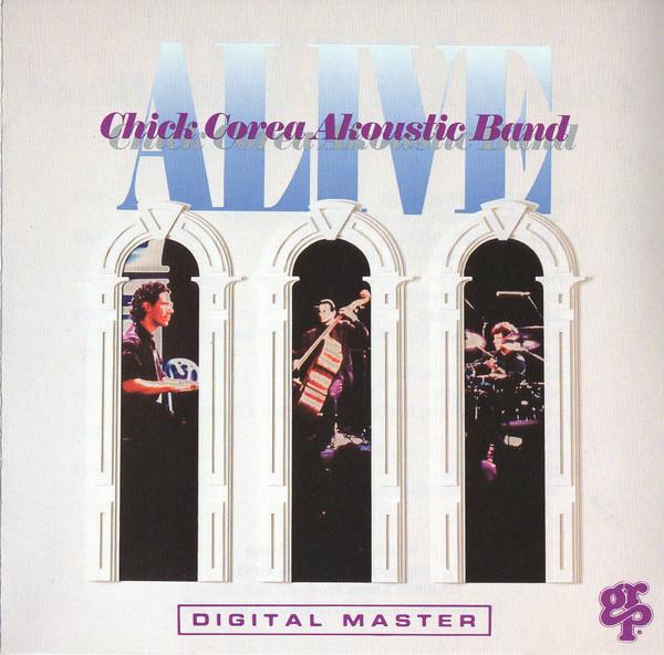CHICK COREA - Chick Corea Akoustic Band: Alive cover
