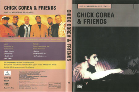 CHICK COREA - Chick Corea & Friends: Live - Remembering Bud Powell cover