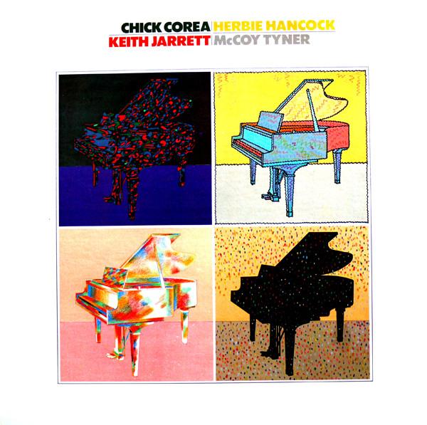 CHICK COREA - Chick Corea, Herbie Hancock, Keith Jarrett, McCoy Tyner cover