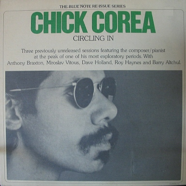 CHICK COREA - Circling In (Circle) cover