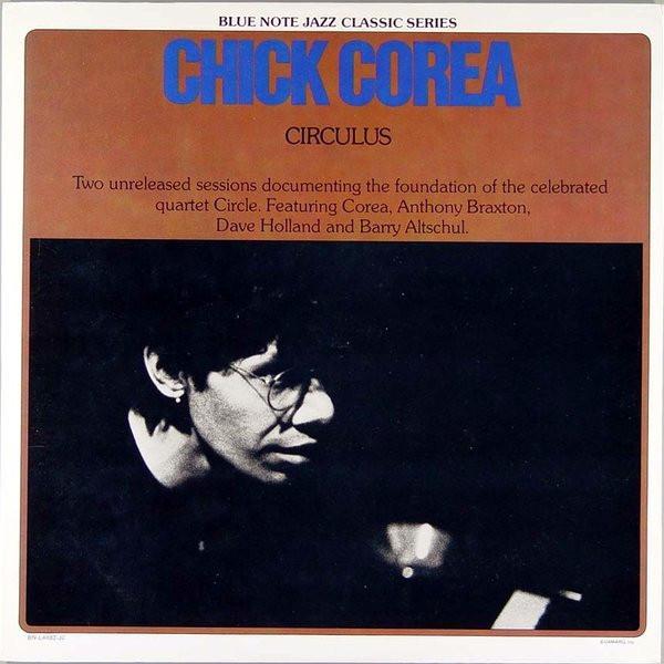 CHICK COREA - Circulus (Circle) cover