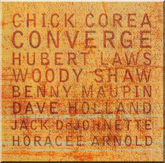 CHICK COREA - Converge cover