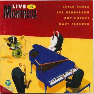 CHICK COREA - Live In Montreux cover