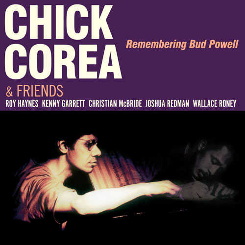 CHICK COREA - Remembering Bud Powell cover