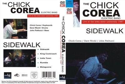 CHICK COREA - The Chick Corea Elektric Band : Live At The Iowa State University 1987 cover