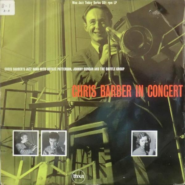 CHRIS BARBER - Chris Barber In Concert (aka Chris Barber in Concert Vol.2) cover