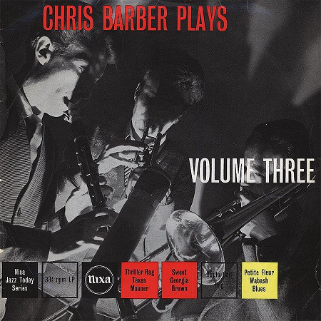 CHRIS BARBER - Chris Barber Plays Volume III cover