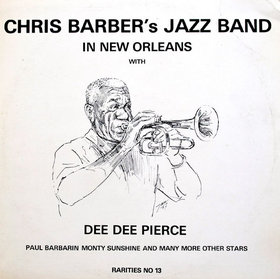 CHRIS BARBER - Chris Barber's Jazz Band In New Orleans cover