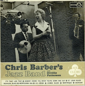 CHRIS BARBER - Chris Barber's Jazz Band With Ottilie Patterson cover