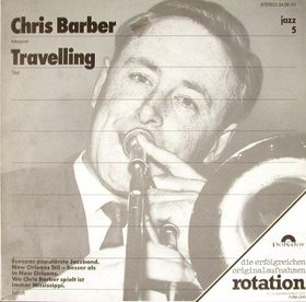 CHRIS BARBER - Travelling cover