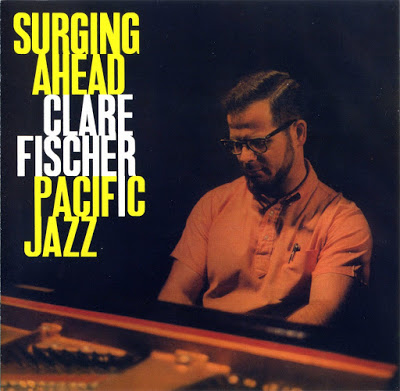 CLARE FISCHER - Surging Ahead cover