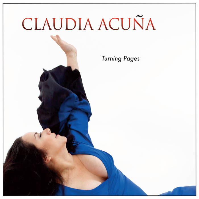 CLAUDIA ACUÃ'A - Turning Pages cover