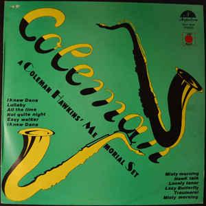 COLEMAN HAWKINS - A Coleman Hawkins' Memorial Set cover
